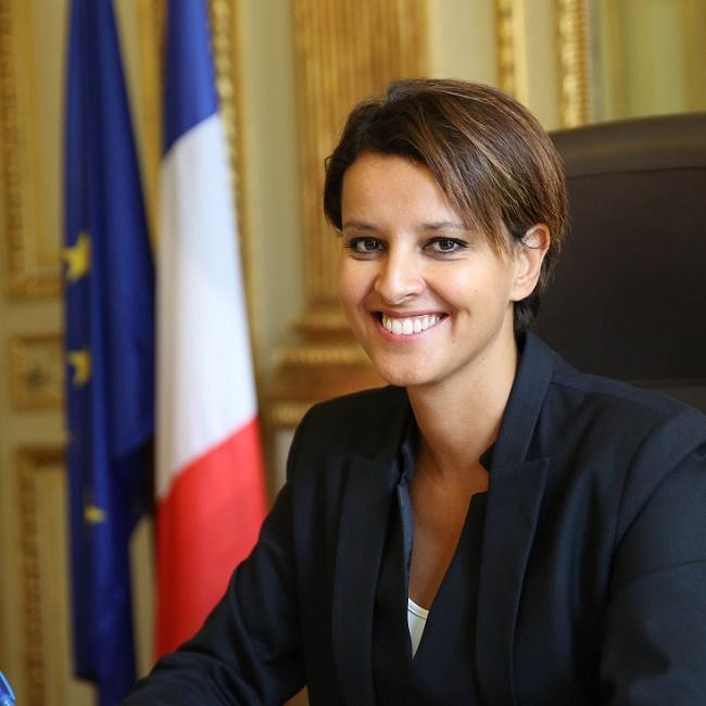 Najat Vallaud-Belkacem, ministre de l'Éducation Nationale, tient à renforcer l'éducation aux médias dans le système éducatif français. Un enseignement qui est intégré à la réforme du collège. Crédit : Philippe Devernay.