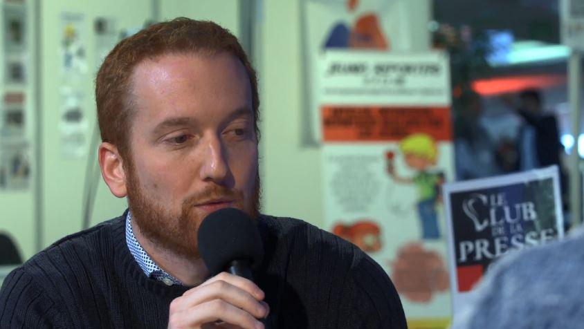 [EN PLATEAU] Benjamin Bousquet, journaliste à France Info