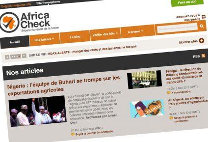 «Nous avons lancé Africa Check, avant que l'on parle de fake news»