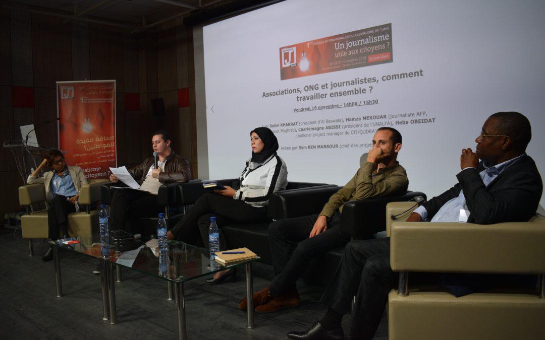 «Les journalistes ne vont pas assez vers les ONG et les associations»