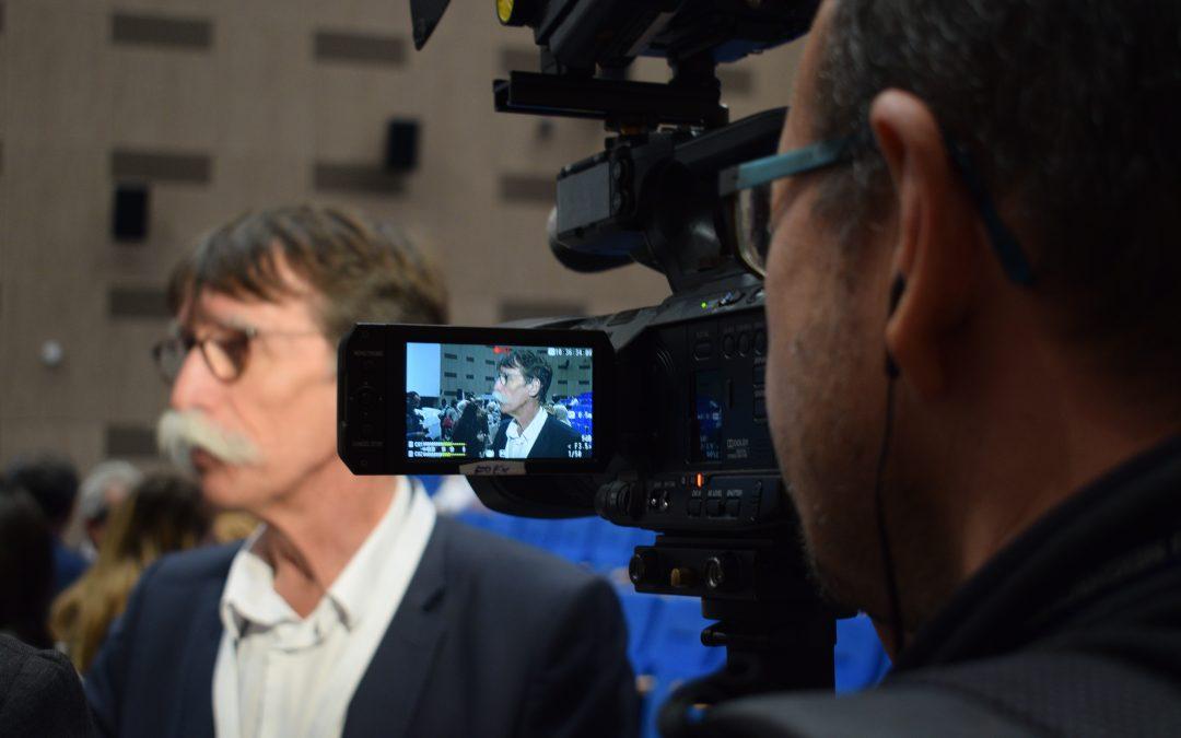 Jérôme Bouvier : «Pas de frontières entre les journalistes, un même métier, des mêmes valeurs»