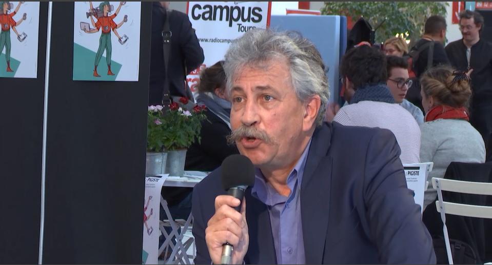 [EN PLATEAU] Patrick Apel-Muller, directeur de la rédaction de L'Humanité