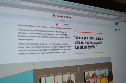 Les articles sponsorisés sont de plus en plus courants, et pas toujours très identifiables. Crédit photo : Victorine Gay.