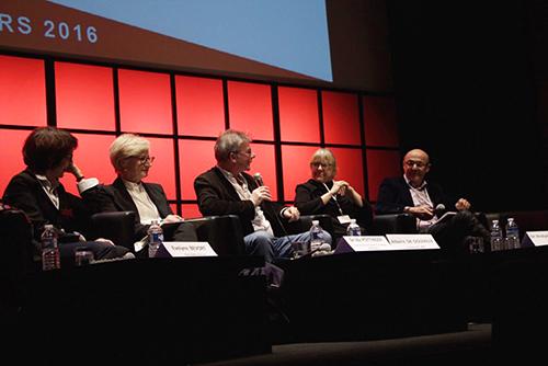 Le rédacteur en chef de France 24 a dirigé la conférence. (R. Dimitrova)