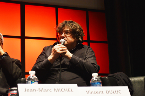 Vincent Duluc a été actif pendant le débat.