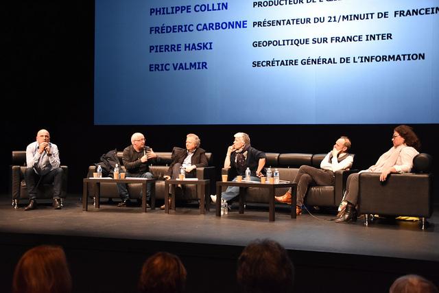 [LE RÉSUMÉ] « «Parlons info» avec les journalistes de Radio France »